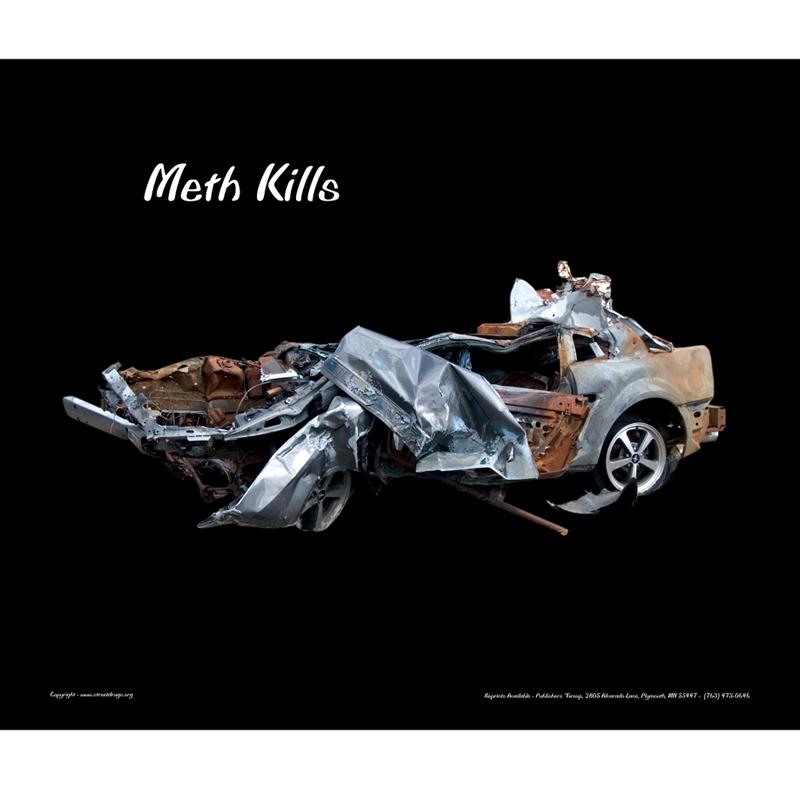 Meth Kills Poster